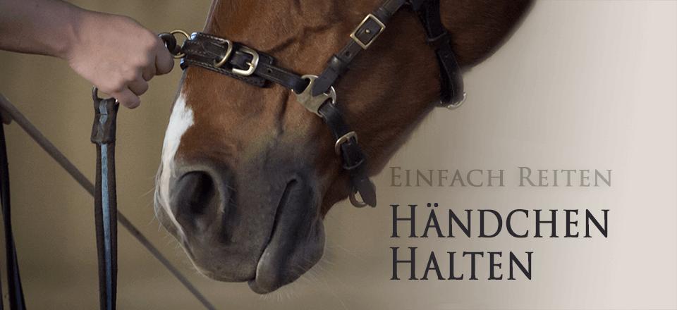 Händchenhalten für Reiter